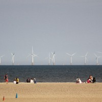 Wind farm at Skegness