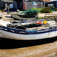 Fishing boat at Brancaster