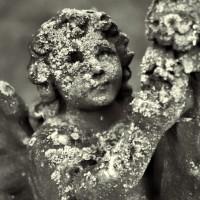 Cherub in Eastfield Cemetery
