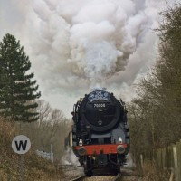 BR locomotive 70000